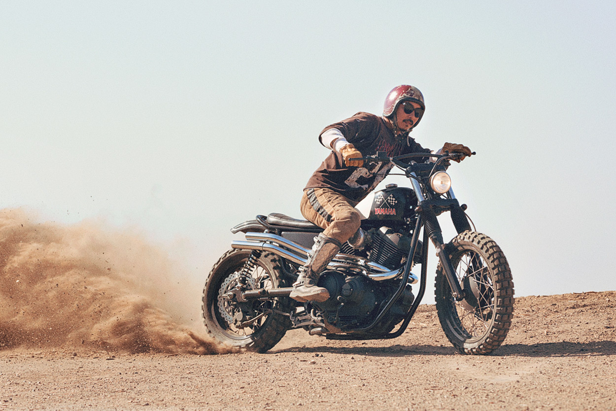 Custom Yamaha SCR950 by Brat Style