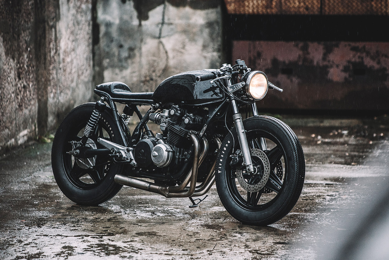 double trouble: two new cb750 builds from hookie co. | bike exif