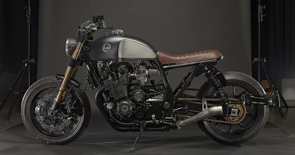 A custom Yamaha XJR inspired by … the BMW R nineT