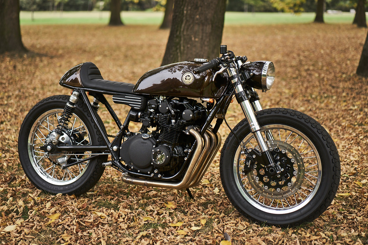 The Cafe Racer's Not Dead: Eastern Spirit's Suzuki GS550
