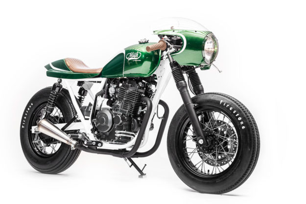 Mash Motors custom by the Wrench Kings