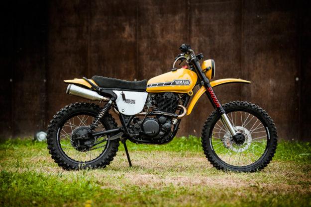 Yamaha XT500 restored by North East Custom