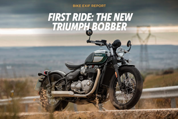Ride Report: The 2017 Triumph Bonneville Bobber