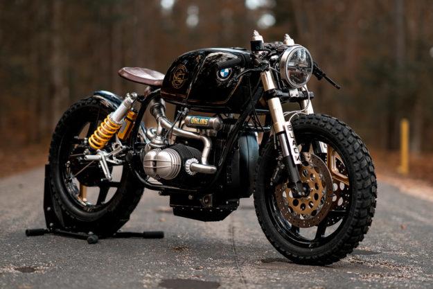 Black Beauty: NCT's wild custom BMW R100 | Bike EXIF