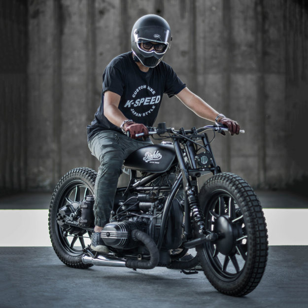Punk Rock Boxer: A slammed custom Ural by K-Speed