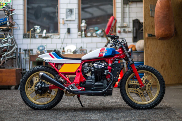 kingston 39 s honda cx500 street tracker is pure 80s magic bike exif. Black Bedroom Furniture Sets. Home Design Ideas