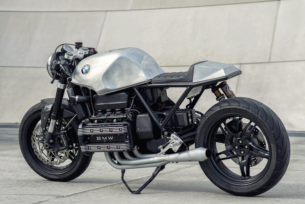 Beliebt Killer K: Mike Flores' BMW K100 Cafe Racer | Bike EXIF ED61