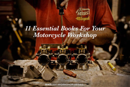 New Series: 11 Essential Books For Your Motorcycle Workshop