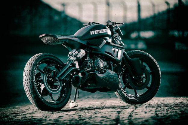 Hell On Wheels Icon 1000 S Kawasaki Vulcan Tracker Bike
