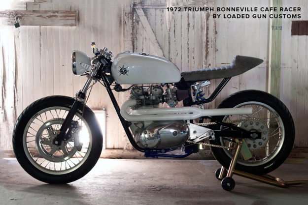 1970s Triumph cafe racer by Loaded Gun Customs