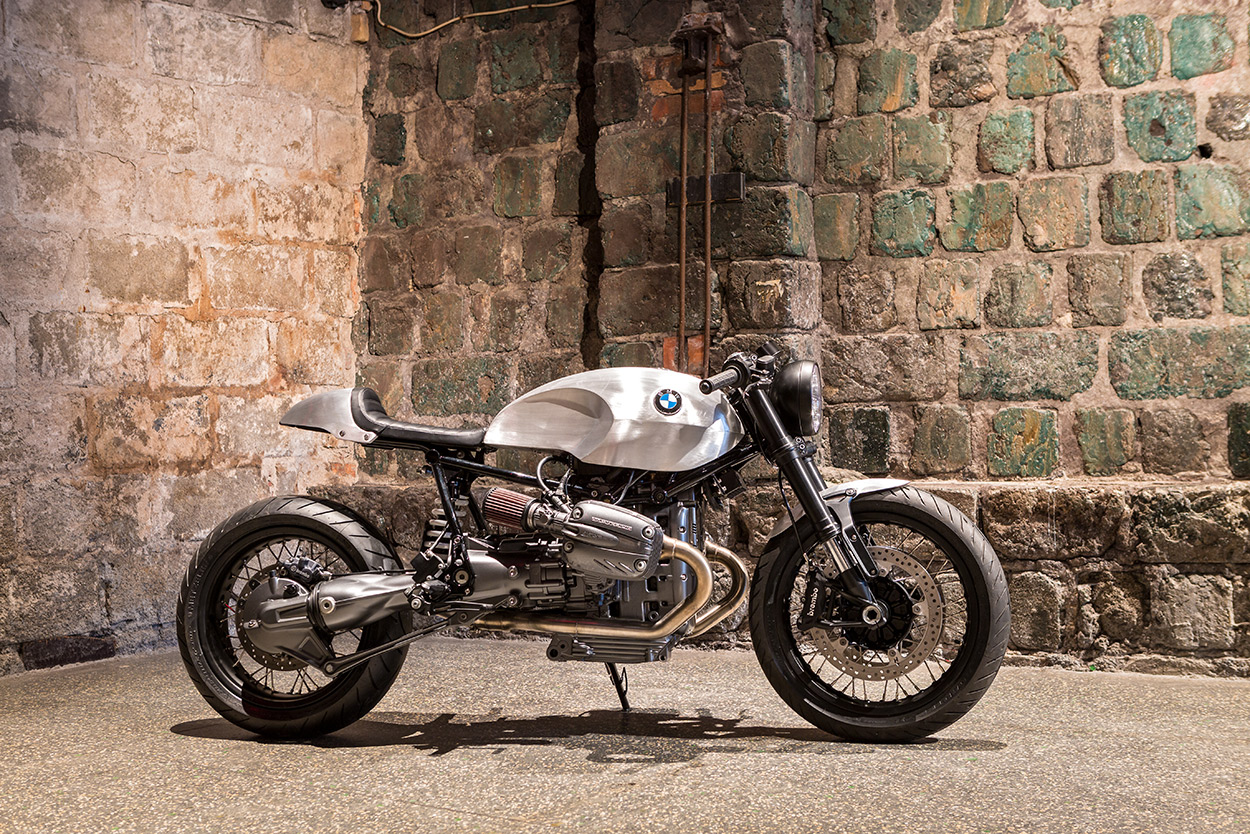 Rise Of The Oilheads An Ice Cool Bmw R1150 Cafe Racer Bike Exif