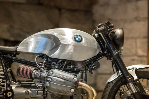 BMW R1150 GS cafe racer by Ronna Noren of Unique Custom Cycles