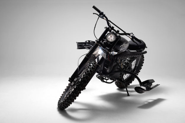 Snow Patrol: An ex-military Husqvarna 256 by 654 Motors