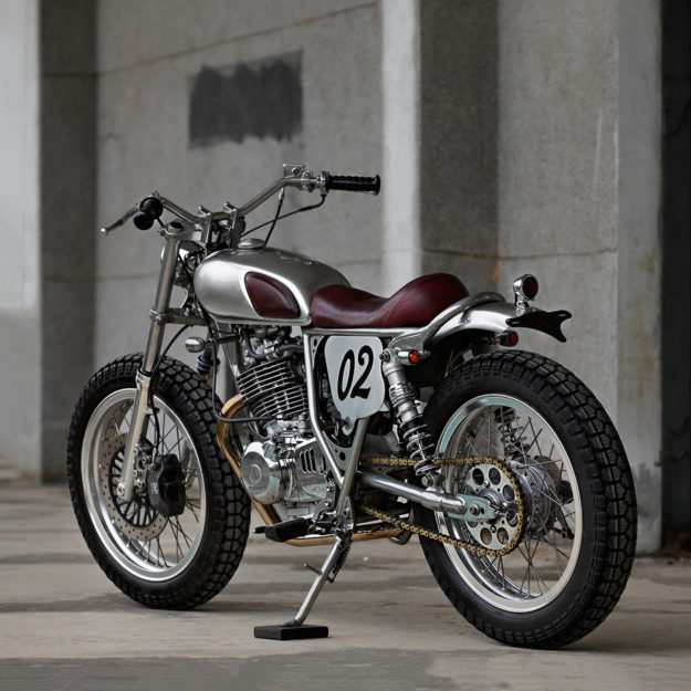 Suzuki TU250 by 2LOUD Custom
