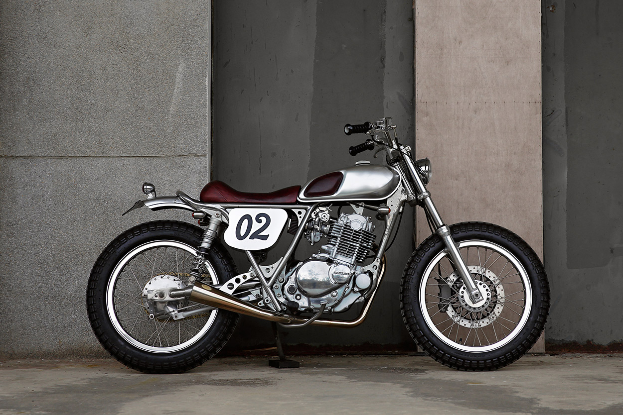 Small But Perfectly Formed 2loud S Suzuki Tu250 Bike Exif