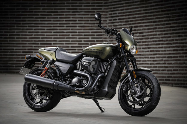Harley Davidson: Ride Report: The 2017 Harley-Davidson Street Rod 750