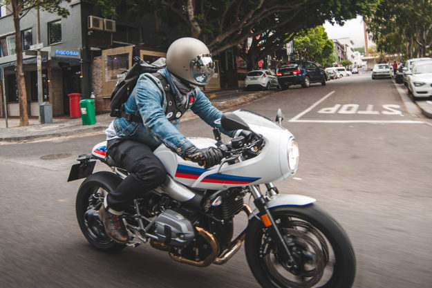 ride report the 2017 bmw r ninet racer bike exif. Black Bedroom Furniture Sets. Home Design Ideas