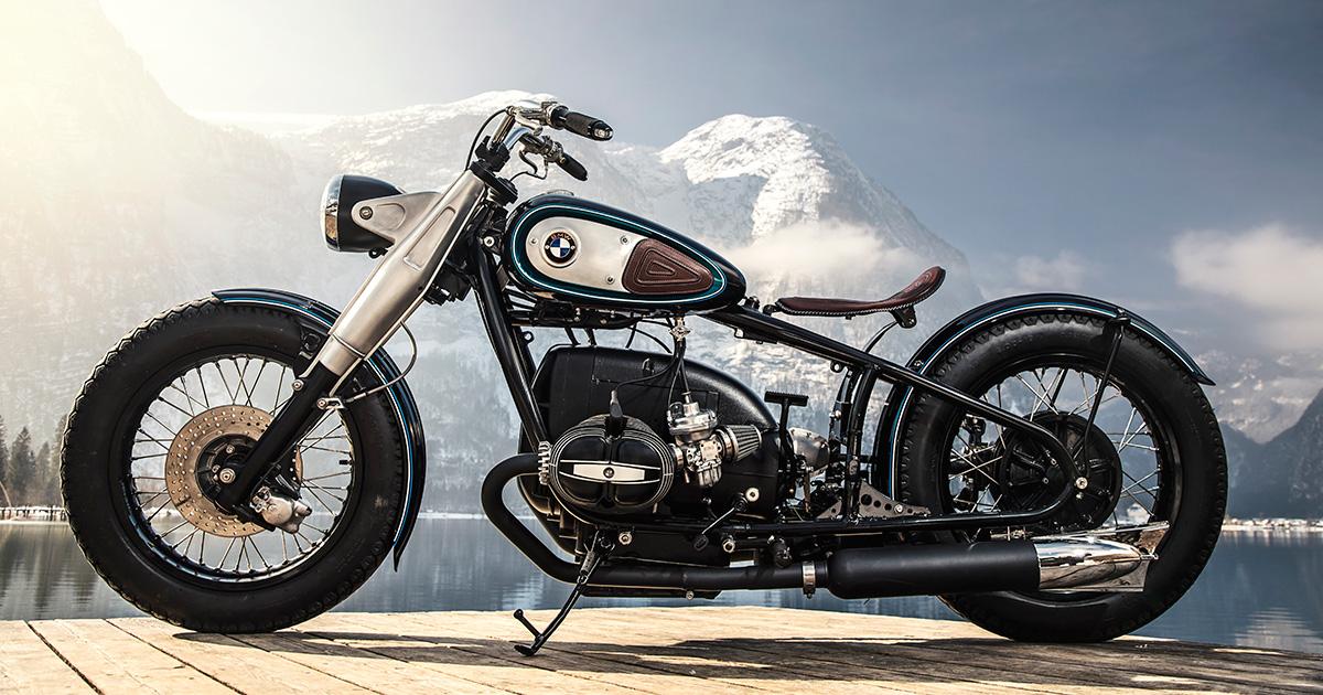 Bavarian Bobber Titan S Extraordinary Bmw R50 3 Bike Exif