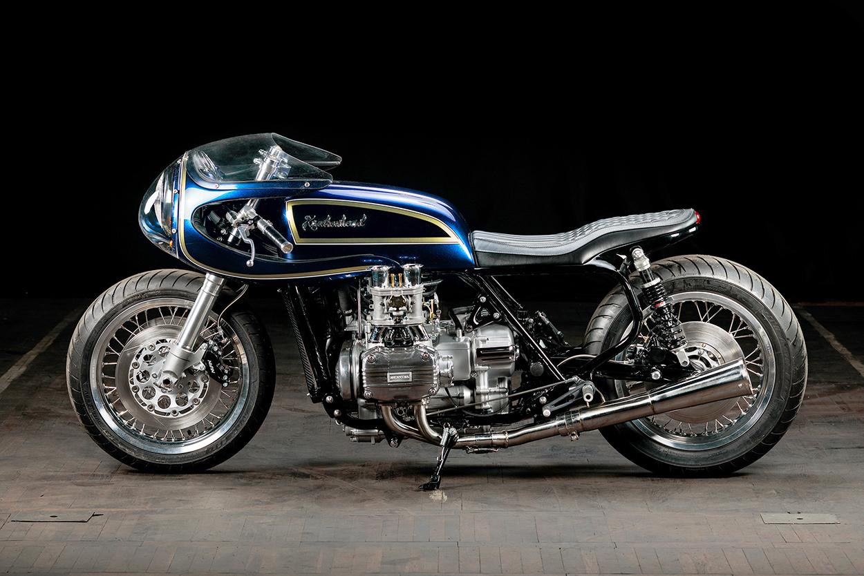 blueberry bomber krakenhead s mighty custom gold wing bike exif