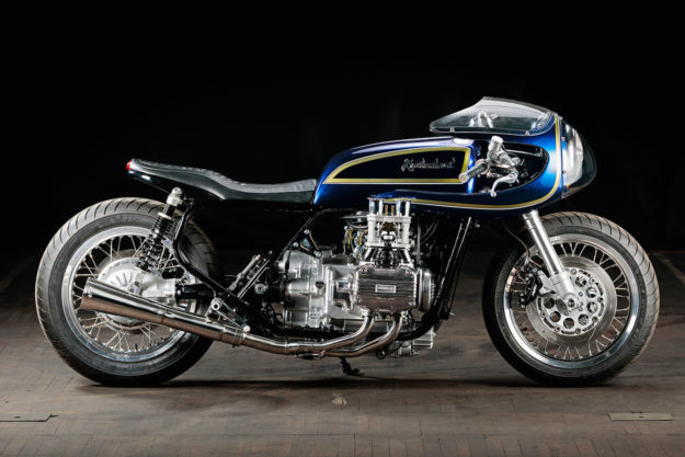Blueberry Bomber: Krakenhead's mighty custom Gold Wing