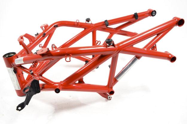 Ducati Diavel welded trellis frame