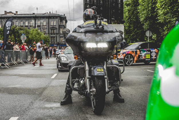 Ride Report: Riding motorcycles at the Gumball 3000 rally