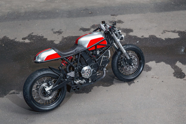 Custom Ducati 900 ss i.e. by Birdie Customs of Moscow
