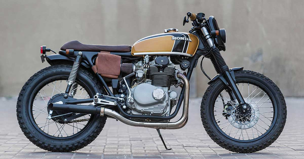 From Texas barn to the Persian Gulf: A CB350 from Dubai