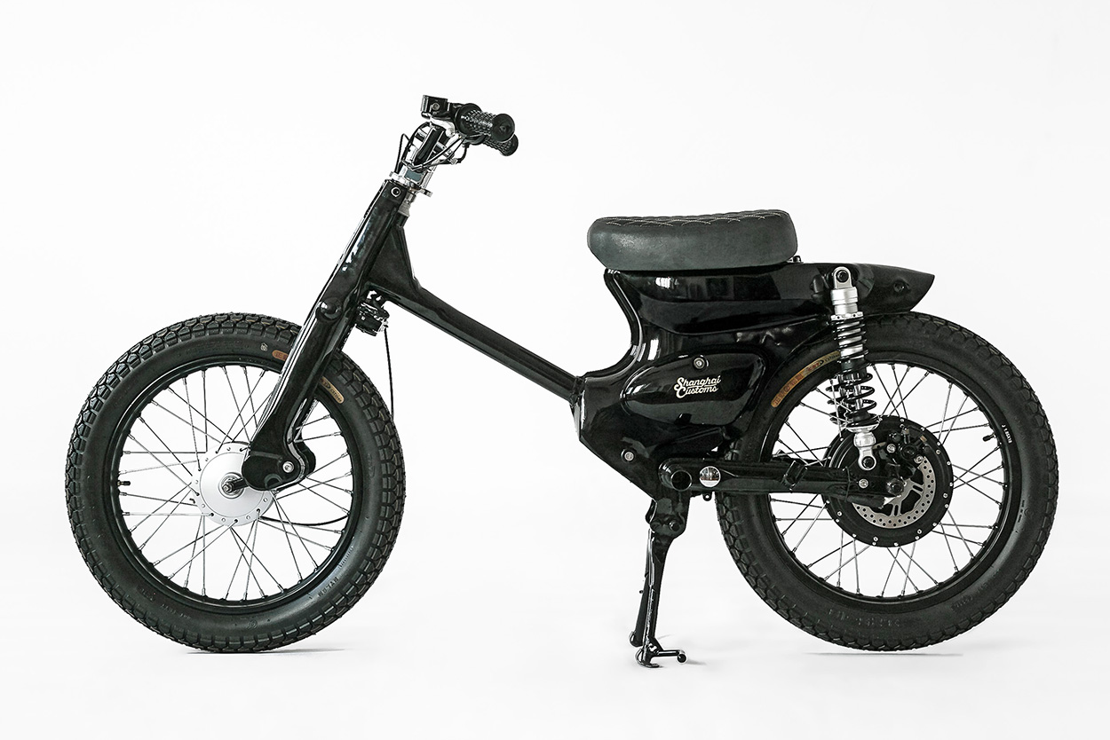 How To Turn The Honda Cub Into An Electric Motorcycle Bike Exif By Shanghai Customs Full Size