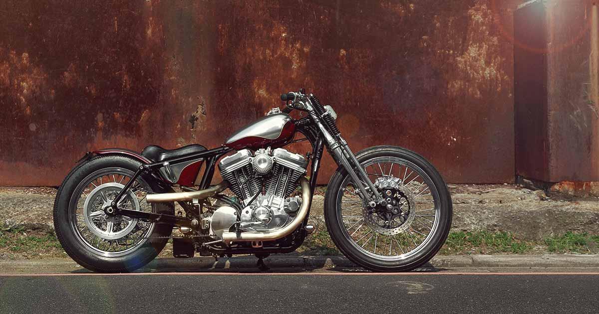 Subtle Deception: A Harley Sportster bobber from 2LOUD