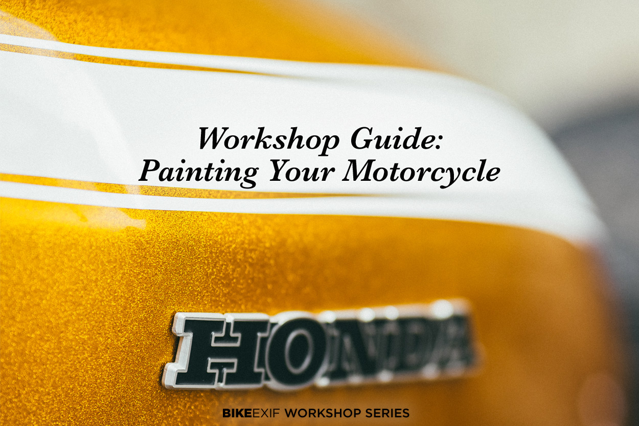 Workshop Guide: Painting A Motorcycle