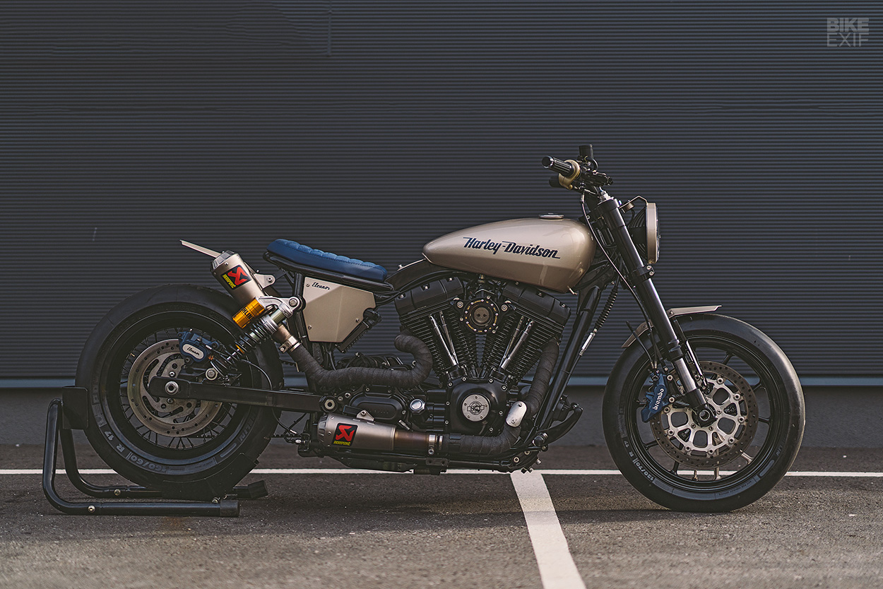 Custom Harley Davidson Dyna By Kraus: Harley-Davidson Dyna On Bike EXIF