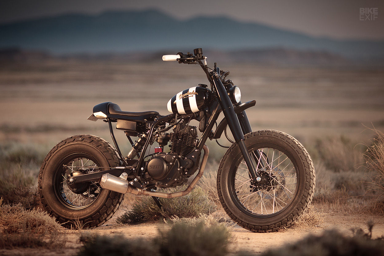 Custom Yamaha TW125 by Dumbador of Spain