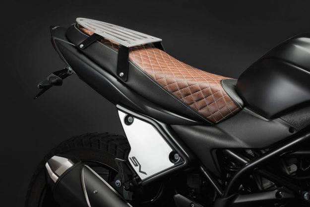 Finally: a custom kit for the Suzuki SV650, by C-racer.