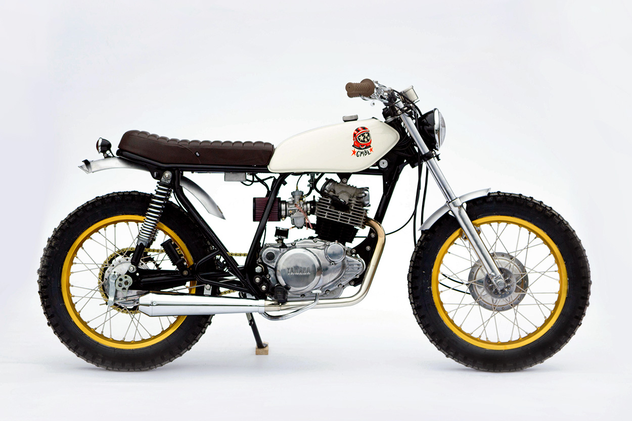 Space Hopper: A Yamaha SR250 for bouncing around town