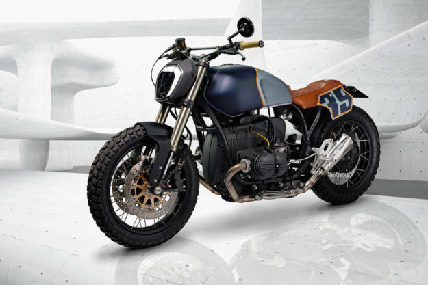 1993 BMW R100 cafe racer by ER Motorcycles