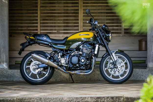 Beyond Z The Kawasaki Factory Z900rs Custom Project