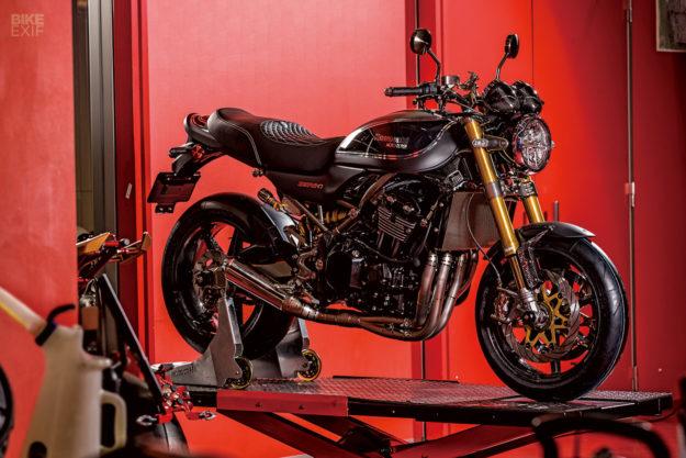 Custom Kawasaki Z900RS by Moto Corse