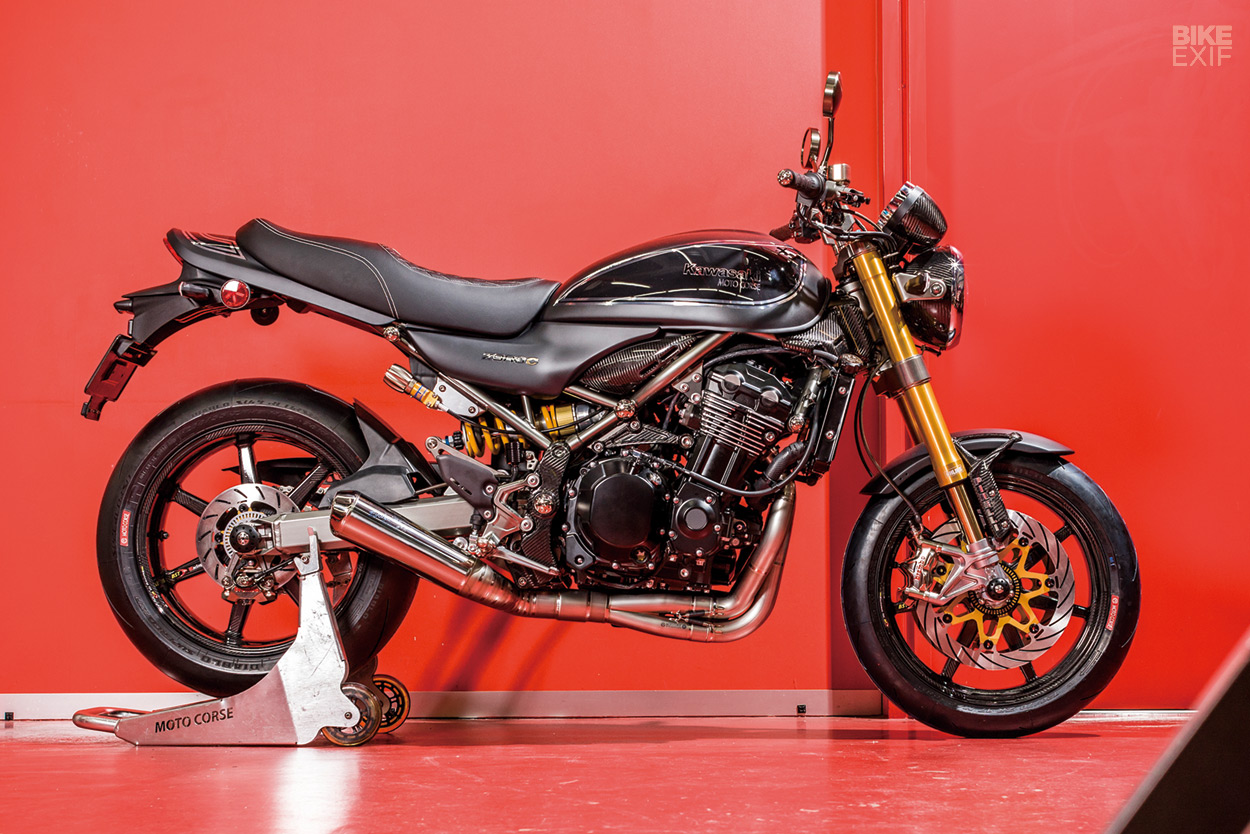 Moto Corse Z900RS Is Well Known In Japan As An Importer Of High End Models Like Bimota And Vyrus A Builder Ducati