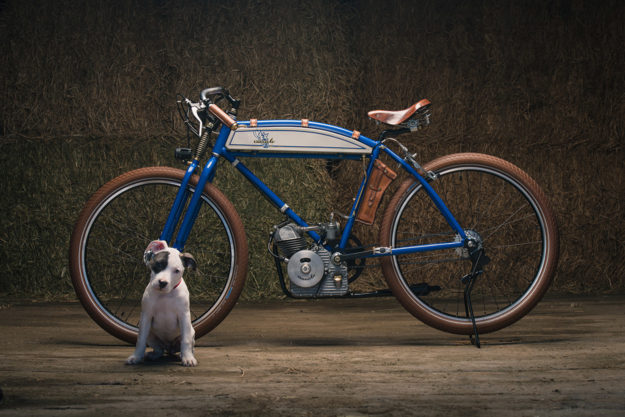 Puppy Love: A restomod vintage Ducati Cucciolo from Analog Motorcycles