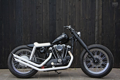 Custom Harley Ironhead Sportster by Pancake Customs