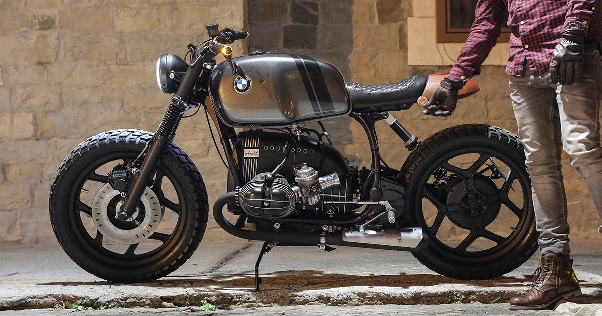 Escape Vehicle: Building a BMW R80RT To Stay Sane
