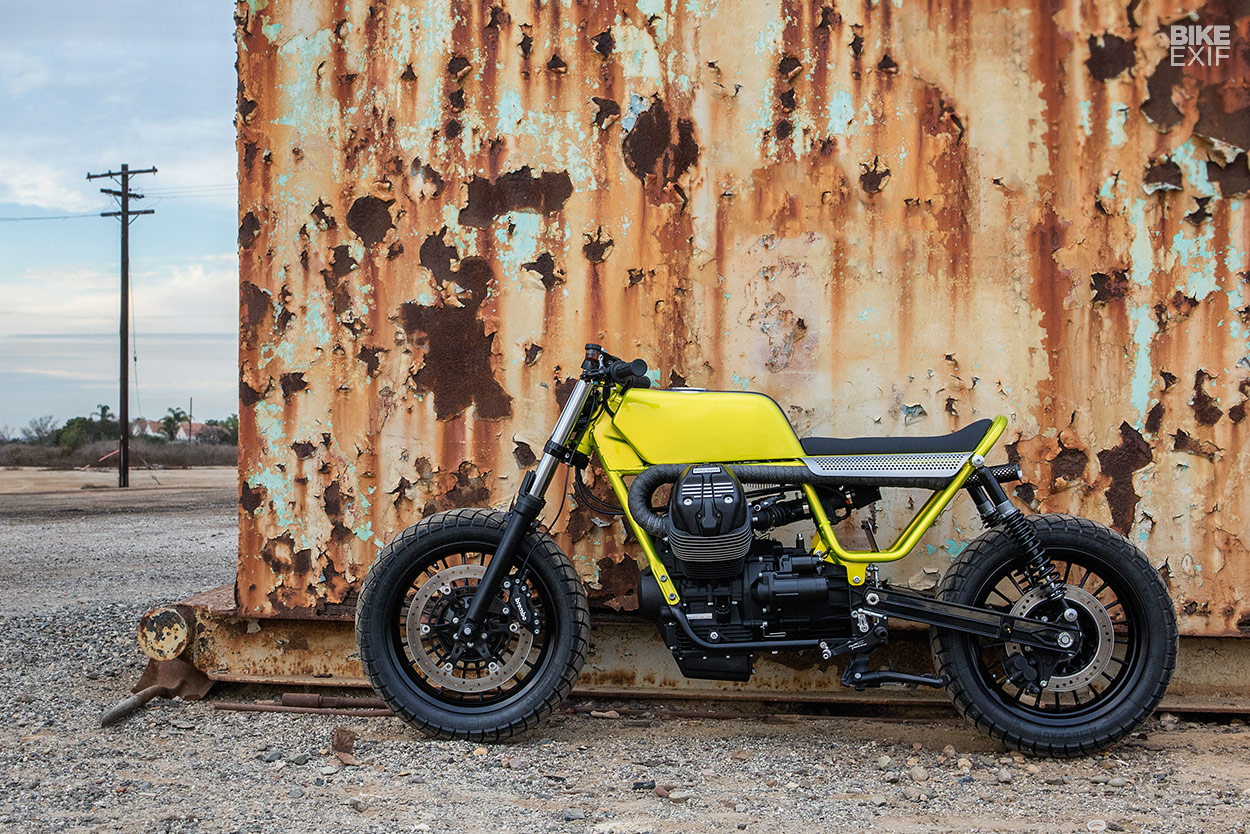 Fat Tracker: custom Moto Guzzi V9 by Untitled Motorcycles