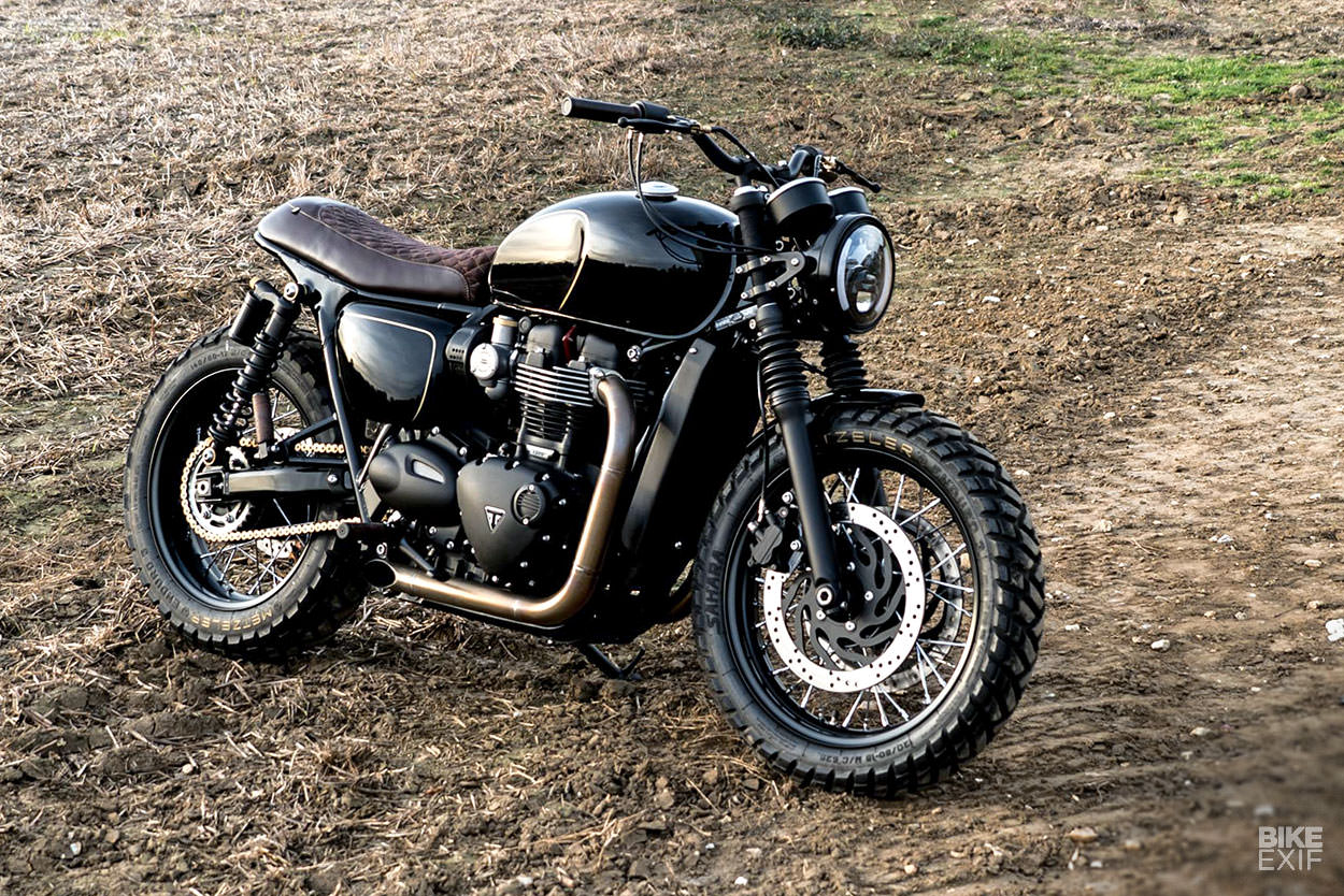 Class Act: Old Empire Motorcycles sends the Bonneville T120 to finishing school