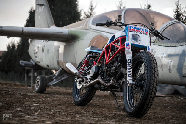Desmo Flat: Ducati 750SS tracker by Home Made Motorcycles