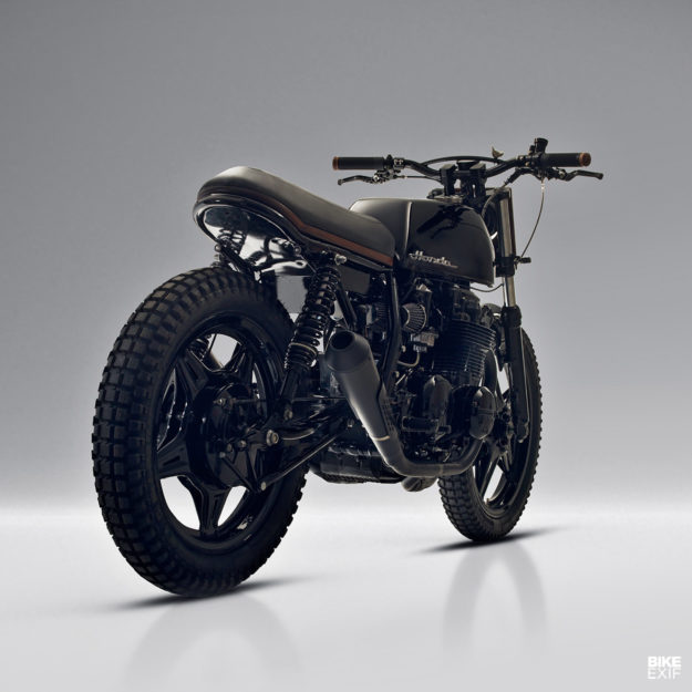 Custom Honda CB650 by Black Lanes