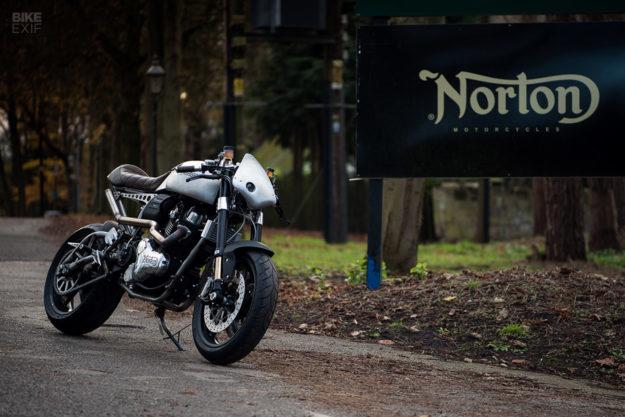 Norton Dominator Naked by Partridge Design, for Goblin Works Garage