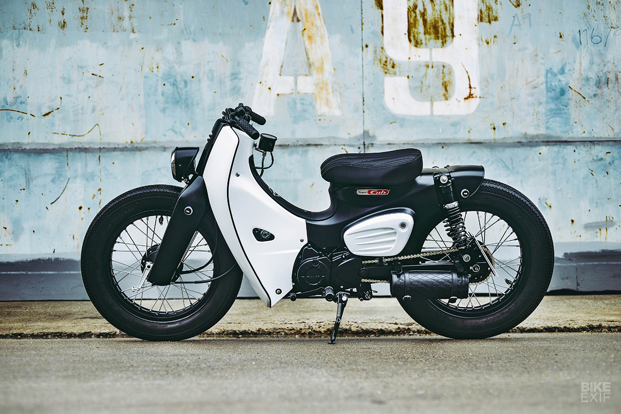 Honda Launches The 2018 Super Cub With A K Speed Custom Bike Exif