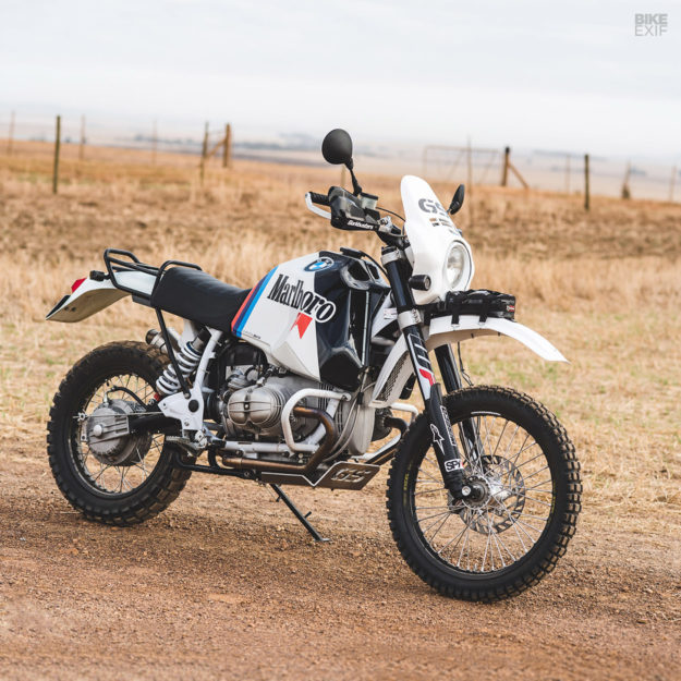 Africa Shox: A hard-charging R80G/S from Cape Town | Bike EXIF