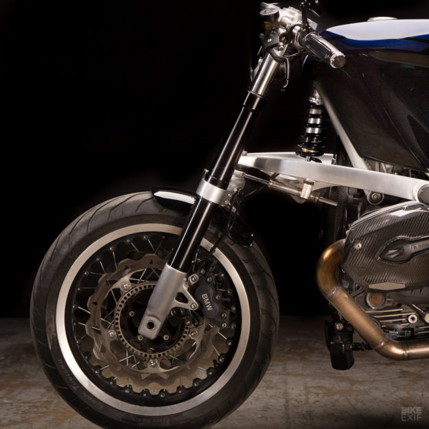 Custom BMW R1200S by Revival Cycles